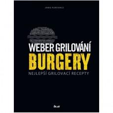 Kniha Weber grilování BURGERY